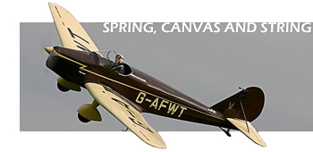 Old Warden Spring Air Display 2005 Title Image